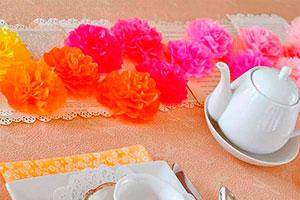 ¿cómo hacer flores de papel? - Flores de papel para decorar tu fiesta