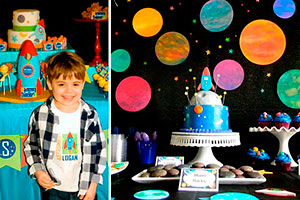Fiesta intergaláctica para niños - Un cumpleaños de otro planeta