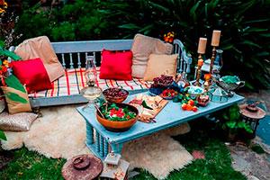 Acogedora celebración al aire libre - Encantadora velada en el jardín de tu casa