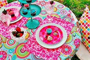 Fiesta al aire libre para niñas - ¡tarde de chicas! frescura y glamour