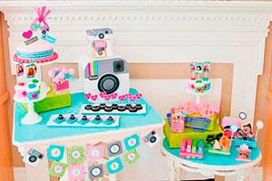 """Fiesta de niña inspirada en instagram - """"etiquetas"""" y """"me gusta"""" en el cumpleaños de tu hija"""