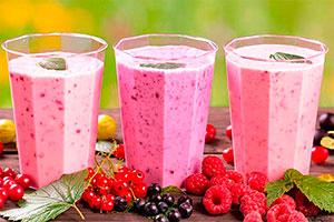 Deliciosos y saludables smoothies - Batidos de frutas cargados de sabores