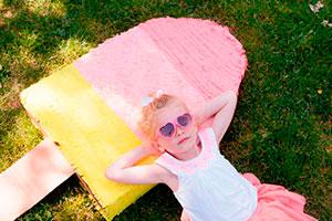 ¿cómo hacer una piñata para niña? - Paso a paso para realizar una piñata con forma de paleta de helado
