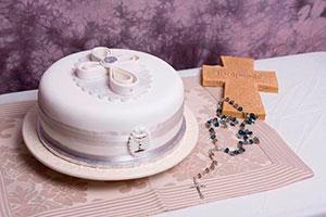 Tipos de pasteles para bautizo - Glorosios pasteles para una fiesta bautismal