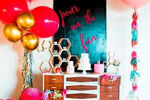 Cumpleaños inspirado en un mocktail - Una espectacular fiesta mocktail para niñas