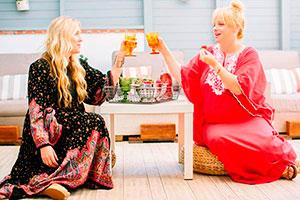 Fiesta para chicas - ¡entre amigas!: un picnic bohemio para tu celebración