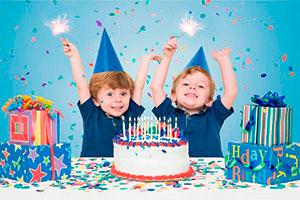 Organiza un cumpleaños para gemelos - Una fiesta doblemente divertida