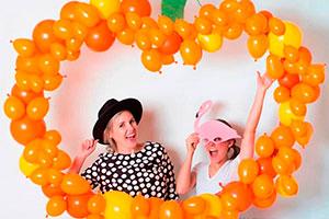 Ideas para fondos de fotos con globos - Atractivos backdrops para tu celebración