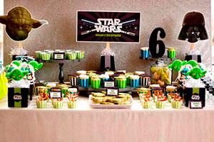 Fiesta de star wars para niños - Star wars: ¡cumpleaños de otro planeta!