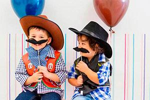Juegos divertidos para una fiesta de vaqueros - Arriba las manos ¡esta es una fiesta de vaqueros!