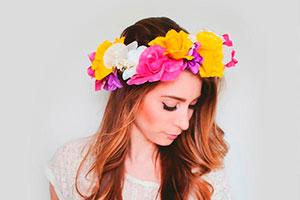 ¿cómo realizar una corona de flores? - Confecciona una hermosa corona de flores