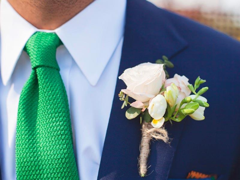 Tipos de corbatas para el traje del novio Alternativas para complementar tu atuendo