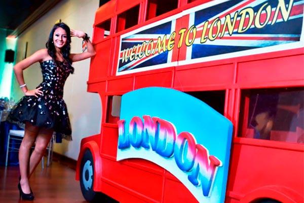 Tus quince años londinenses. Festeja con el mejor estilo de Londres